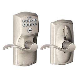 Electronic Key Press Lock and Standard Locl